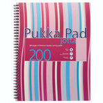 Pukka Pad Pink A4 Wide Ruled Pad