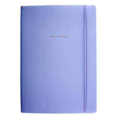 AMAYA LILAC FLEXI NOTEBOOK B5