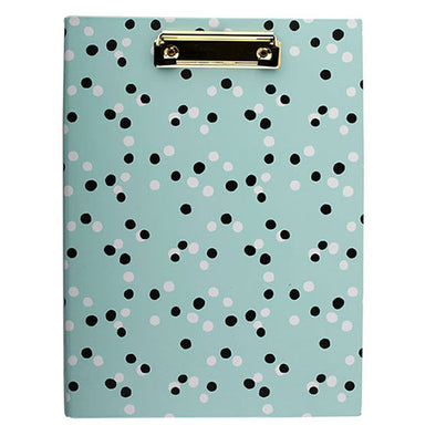HENLEY BLUE DOT PADFOLIO A4