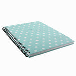 HENLEY BLUE DOT WIRO NOTEBOOK A4