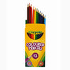 Crayola Coloured Pencils (Pack Of 12)