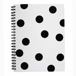 HENLEY MONO DOT WIRO NOTEBOOK A4