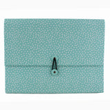 HENLEY BLUE DOT 12 PART ORGANISER