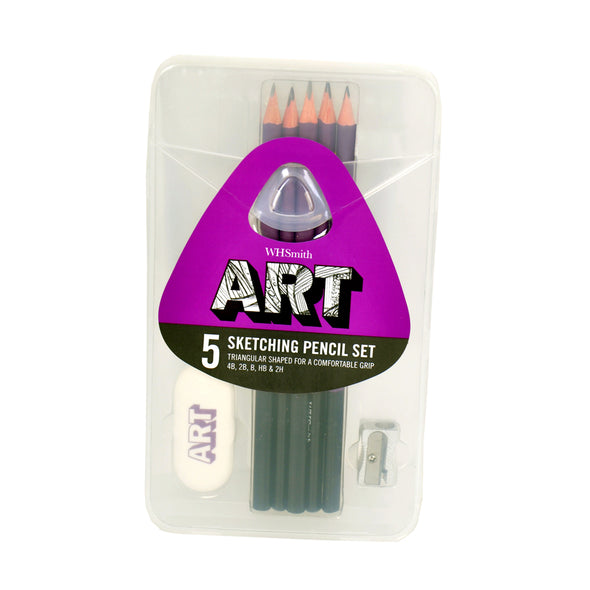 WHSmith Art Pencil Sketching Set