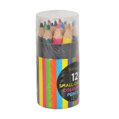 WHSmith Short Pencils Tube 12