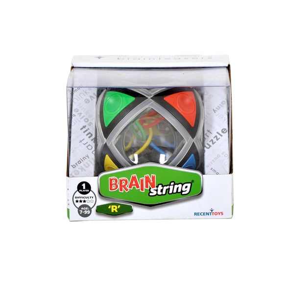 Brainstring 'R' Puzzle