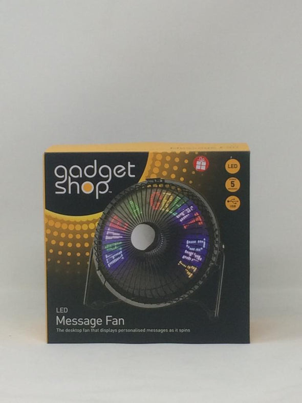 Led Message Fan