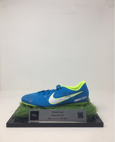 Neymar Jr Signed Boot