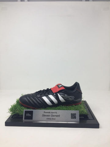 Steven Gerrard Signed Boot