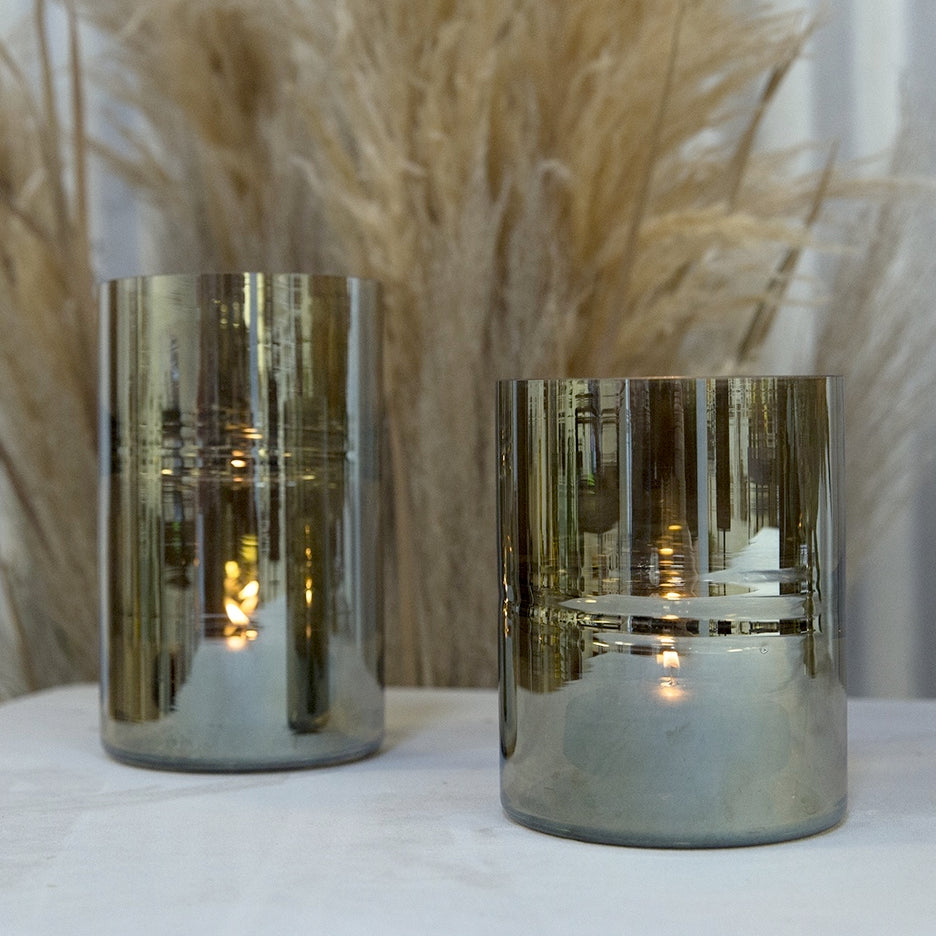 "CARMELO CANDLEHOLDER 4.75""x 7"""