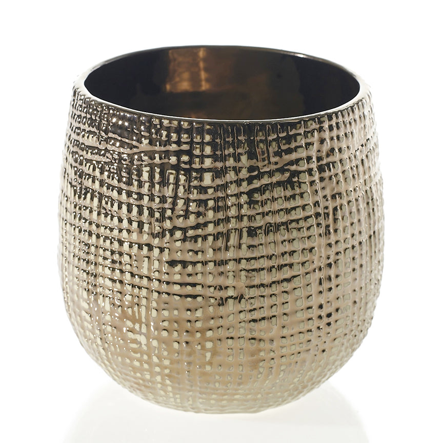 "HAZEL POT 5.5"" x 5.75"" BRONZE"