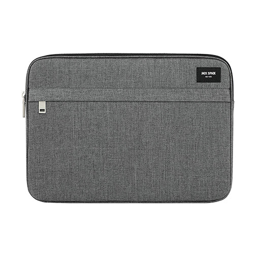 "ZIP SLEEVE 13""LAP GRAY"