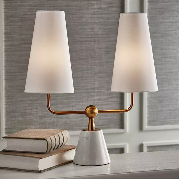 MADISON DUBLET LAMP 19 x 7 x 21.5""