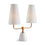 MADISON DUBLET LAMP 19 x 7 x 21.5