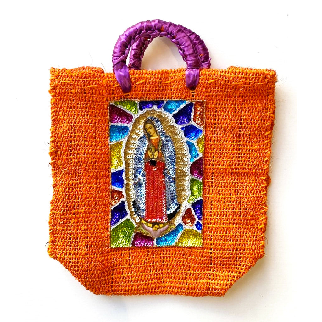 CARTERA VIRGEN MEDIANA 13.78 x 13.78""
