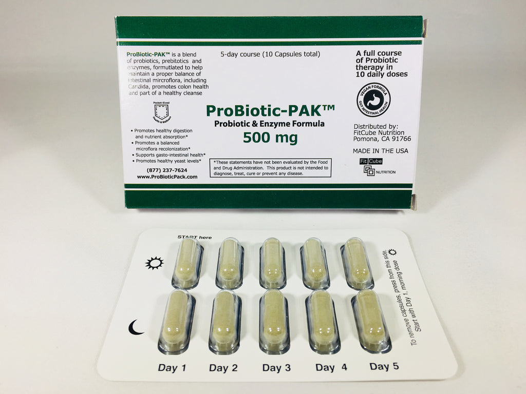 ProBiotic Enzyme PACK 10 Capsule Card - Limited Time: FREE
