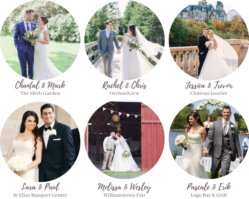 portfolio weddings - Ottawa Wedding Planner