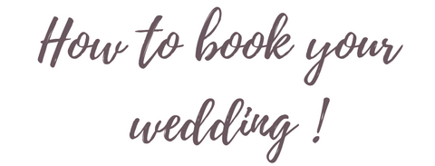 Booking - Wedding Planner Ottawa