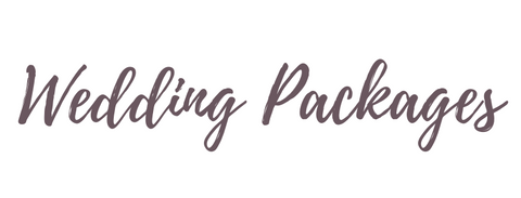Packages - Ottawa Wedding Planner