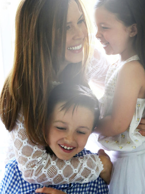THE GLOW: At home with... Monique Lhuillier & kids