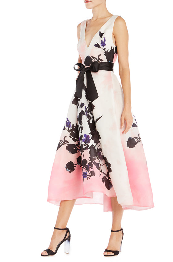 Floral Printed Midi Dress- FINAL SALE