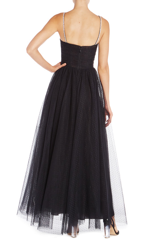 Monique Lhuillier Evening Gown Tulle