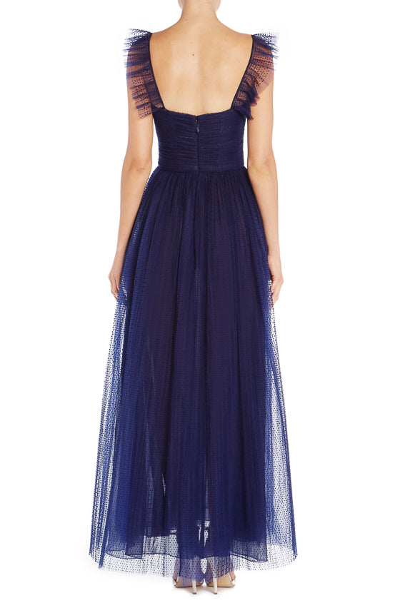 ML Midnight Tulle Gown S19