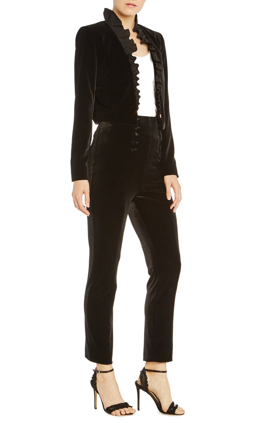 ML Monique Lhuillier Velvet Pant