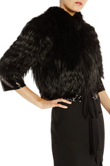 Sequined Fox Fur