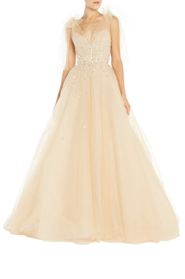 Tulle Ball Gown Monique Lhuillier S19