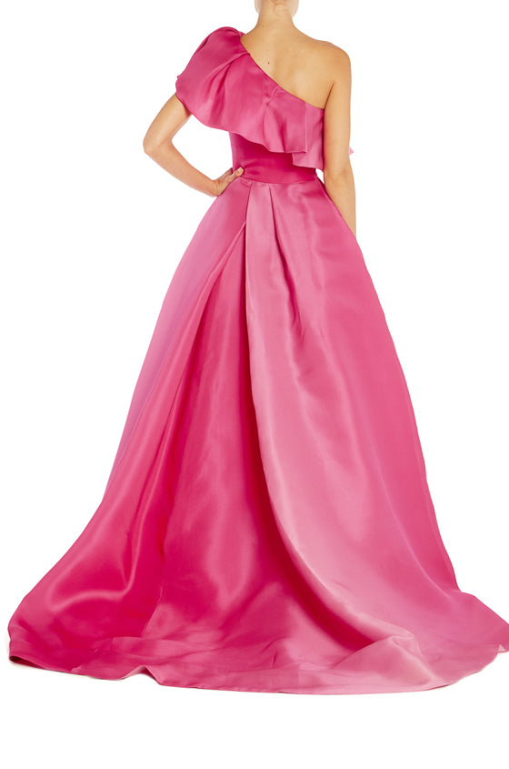 Monique Lhuillier Spring 2019 Pink Gown