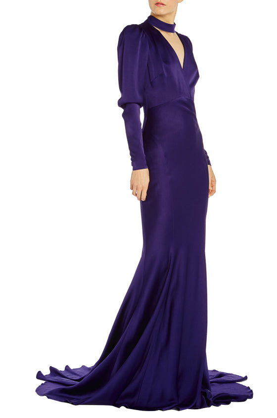 Purple Gown Spring 2019 Monique Lhuillier