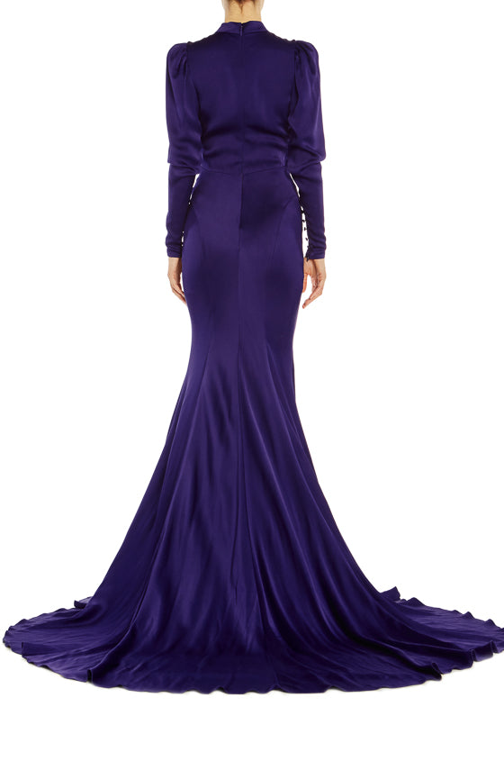 Long Sleeve Evening Gown Spring 2019
