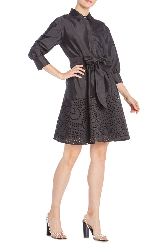 Shirt Dress Monique Lhuillier S19