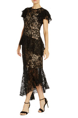 ML  Lace Asymmetrical Dress- FINAL SALE
