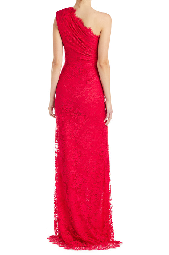 Fall 2019 Red Evening Gown