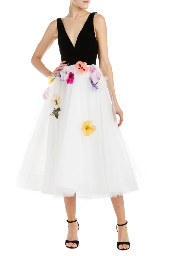 Monique Lhuillier Tulle Dress