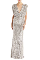 Sequin Evening Gown Monique Lhuillier