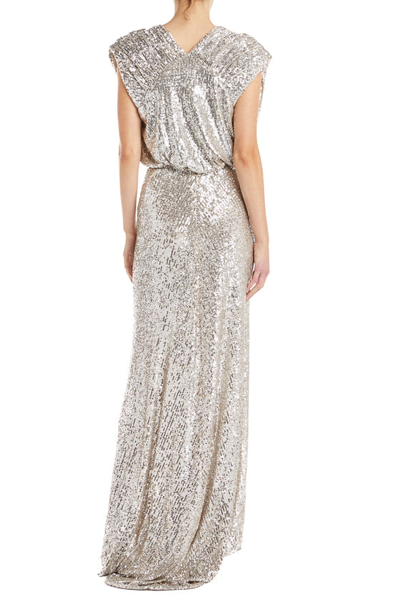 Monique Lhuillier RTW Gown Sequin