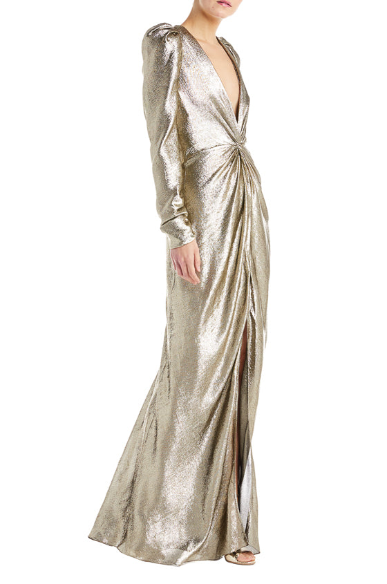 Fall 2019 Evening Gown Gold
