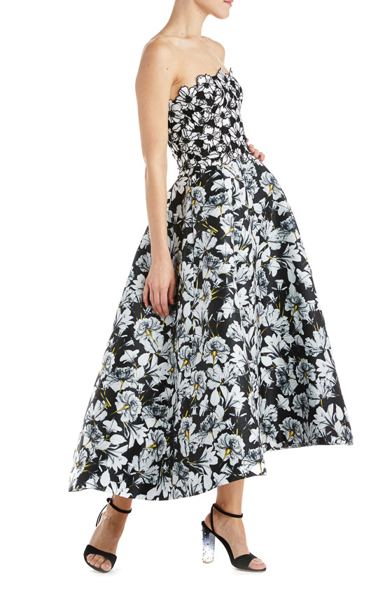 Fall 2019 Floral Evening Gown
