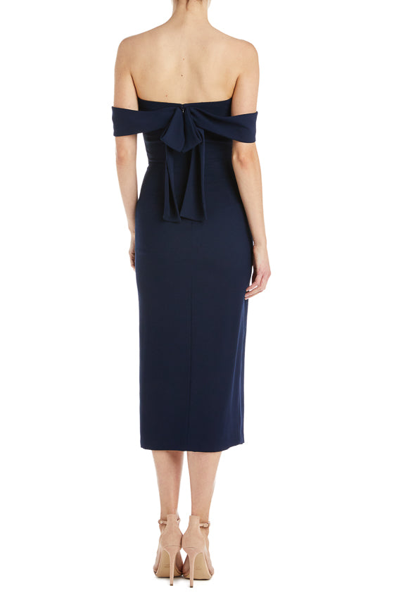 Navy ML Monique Lhuillier Dresses Spring