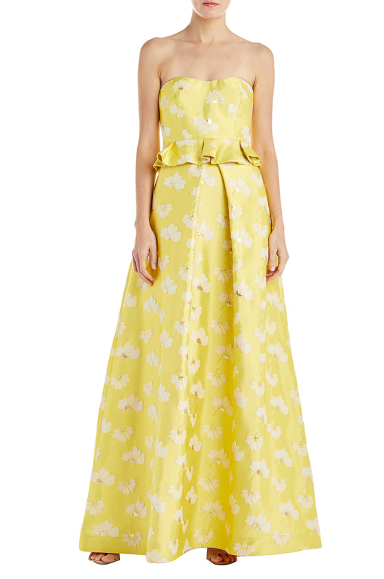 Floral Gowns ML Monique Lhuillier