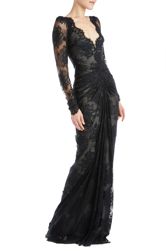Fall 2019 RTW Gown Lace