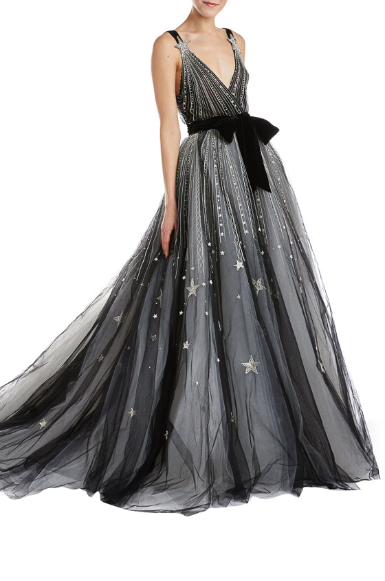 Monique Lhuillier Star Gown