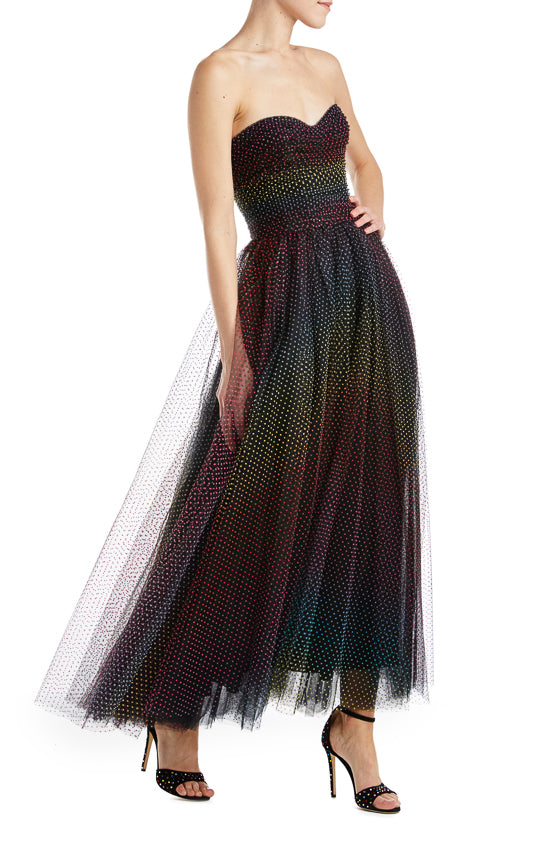 Fall 2019 Black Evening Gown