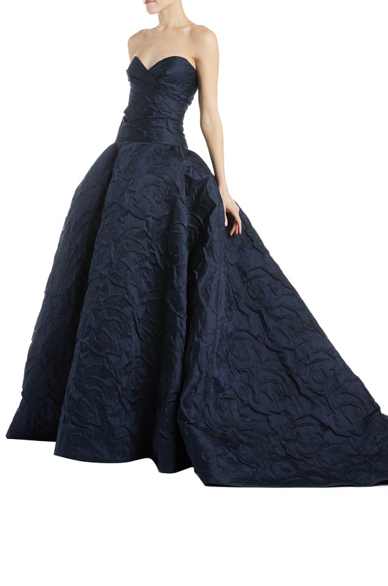 Fall 2019 Strapless Evening Gown