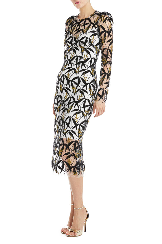 Monique Lhuillier Sheath Dress F19