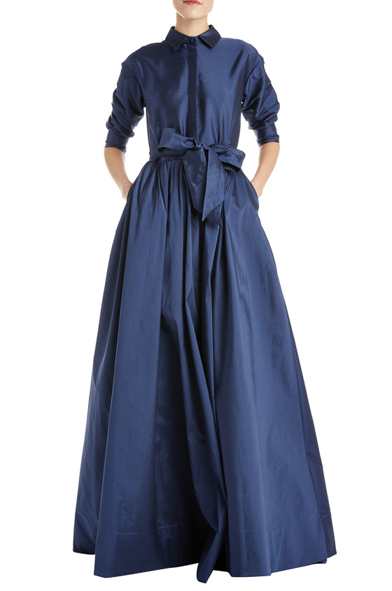 Fall 2019 RTW Navy Gown