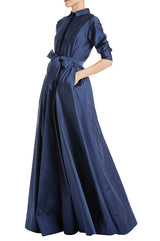 Mother of the bride gown navy